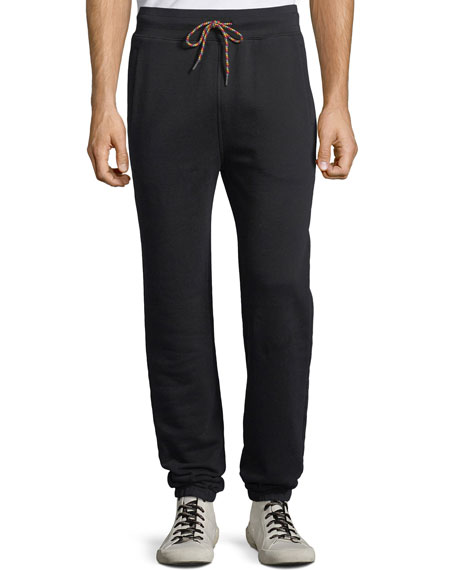 Image 1 of 1: Men's Camp Cotton-Blend Sweatpants