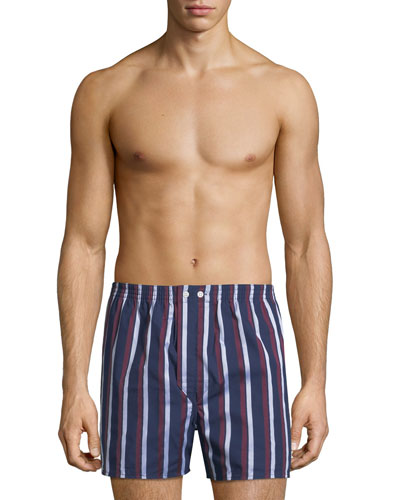 Men's Royal 210 Striped Boxers