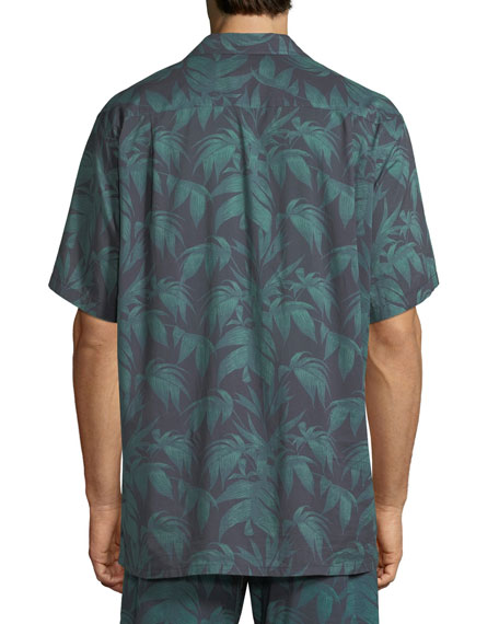 Men's Byron Cuban Short-Sleeve Shirt