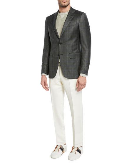 Men's Wool/Linen Dress Trousers