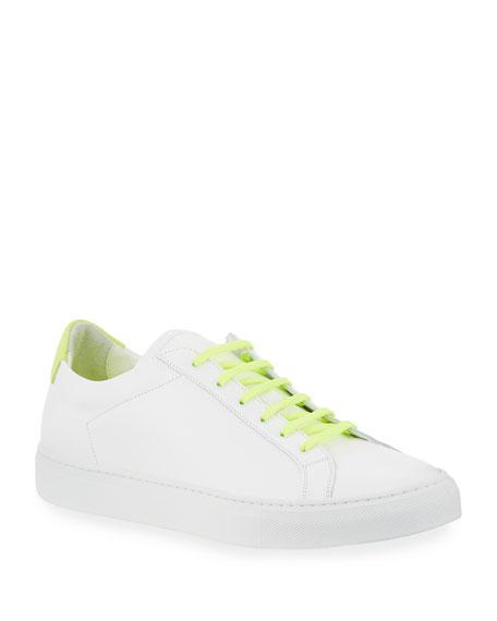 Men's Retro Low Fluo Sneakers