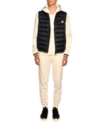 Men's Arv Zip-Front Puffer Vest