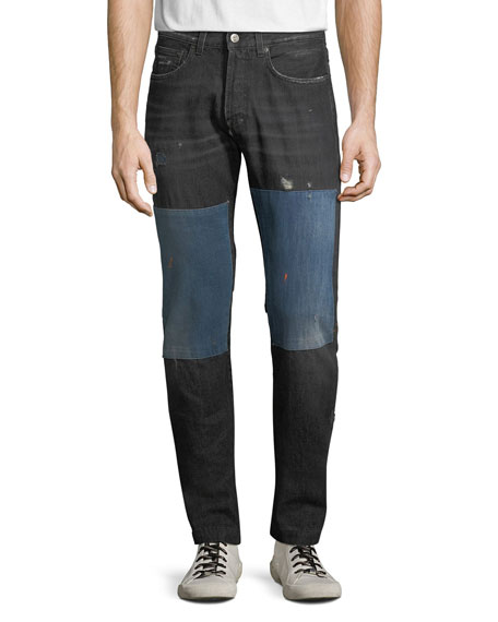 Men's Japan Lesabre Patch Denim Jeans