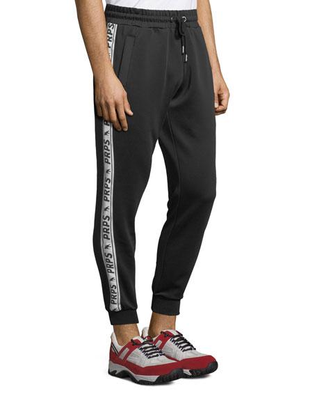 Men's Logo-Taping Track Pants