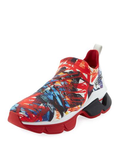 Men's Space Run Sock Sneakers