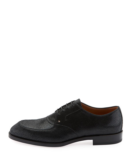 Men's Thomas III Textured Leather Lace-Up Shoes
