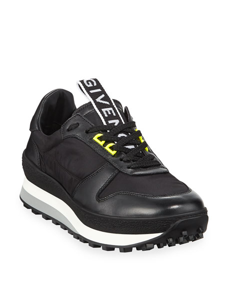 d0e4e1dd8612ff Givenchy Men's TR3 Leather Running Sneakers