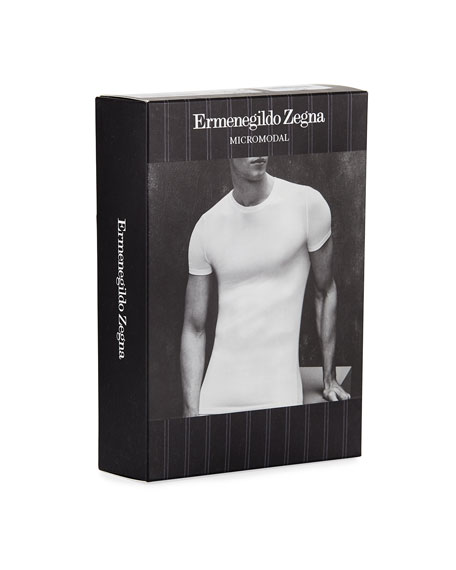Men's Micromodal Round-Neck T-Shirt