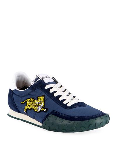 Men's Move Tiger-Applique Sneakers