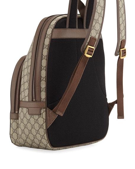 179834043a9f Gucci Men's GG Supreme Medium Canvas Backpack
