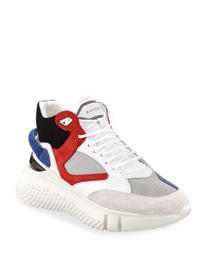 Men's Veloce Mid-Top Runner Sneakers