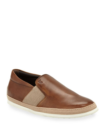 Men s 0-TV Espadrille Slip-On Sneakers Quick Look. Tod s 88f44a314