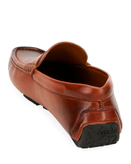 Men's Pievo B-Detail Leather Drivers