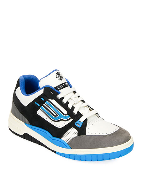 Bally Men's Kuba Retro Leather Sneakers