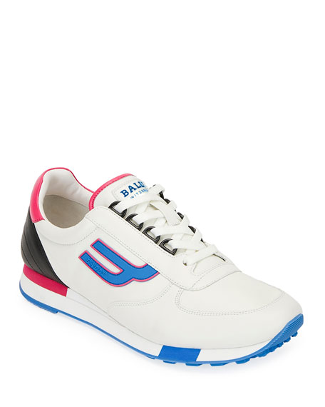 Bally Men's Gavino Retro Running Sneakers