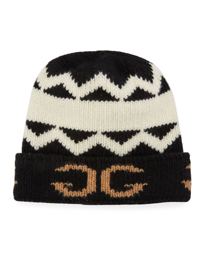 Men's Peruss Logo-Knit Beanie Hat