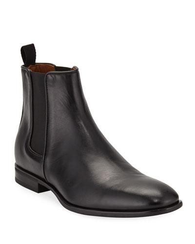 Men's Adrian  Leather Dress Chelsea Boots