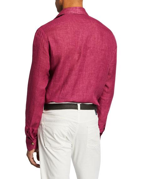 Men's Linen Sport Shirt