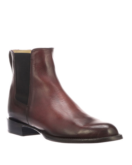 4775d4903345 Lucchese Men s Grayson Leather Chelsea Boots