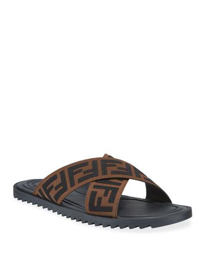 Men's FF Band Slide Sandals