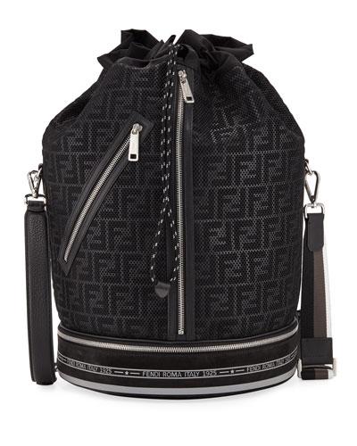 Men's FF Mesh Drawstring Carryall Bag