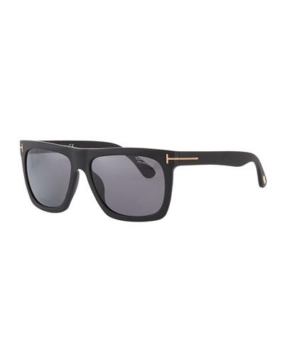 Men's Morgan Acetate Square Sunglasses