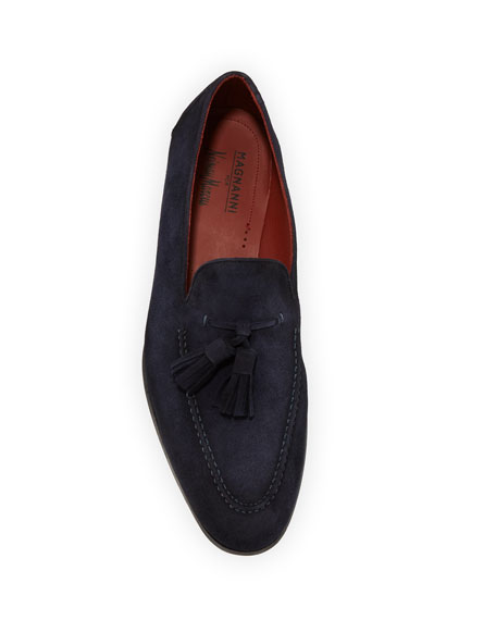 Men's Suede Tassel Loafers
