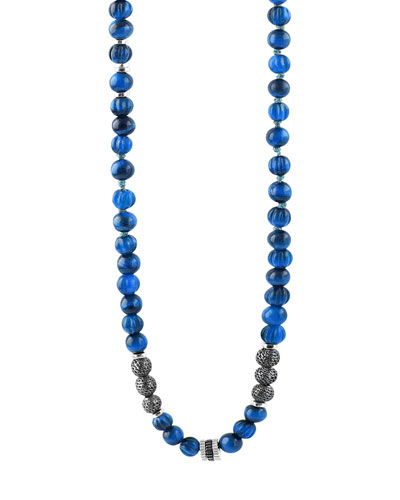 Men's The Formentera Sodalite Necklace