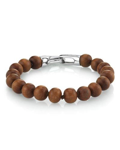 Men's Sandalwood Bracelet  Size M