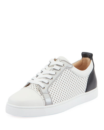 daaf08980944 Men s Louis Junior Spike Low-Top Sneakers Quick Look. Christian Louboutin