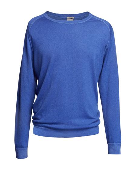 Men's Cashmere Crewneck Sweater