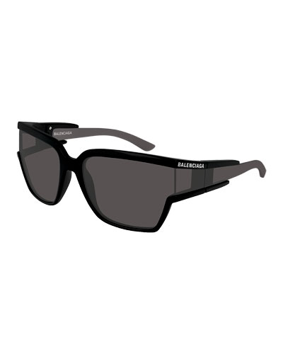 Men's Square Unisex Injection Sunglasses