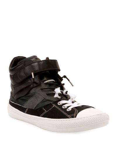 Men's Composite High-Top Sneakers