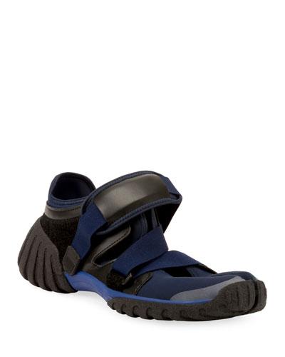 Men's Neoprene Grip-Strap Sneakers