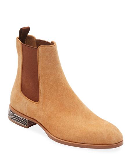 Men's Samsocool Red Sole Chelsea Boots