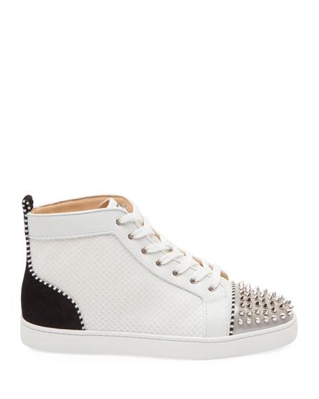 Men S Lou Spikes Mid Top Sneakers