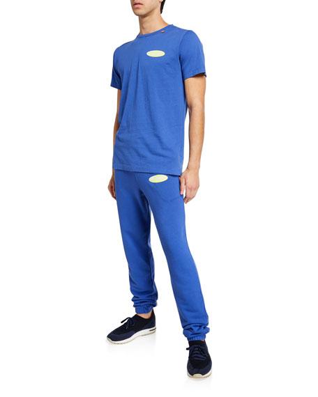 Men's Split Logo Slim Sweatpants