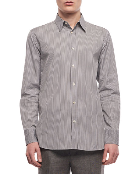 Men's Ahmet Striped Sport Shirt