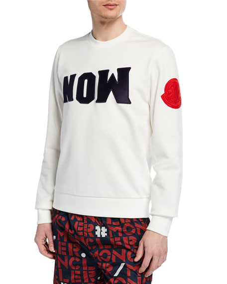 Men's Logo Graphic Crewneck Sweatshirt