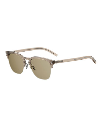 Men's Fraction 6 Half-Rim Sunglasses