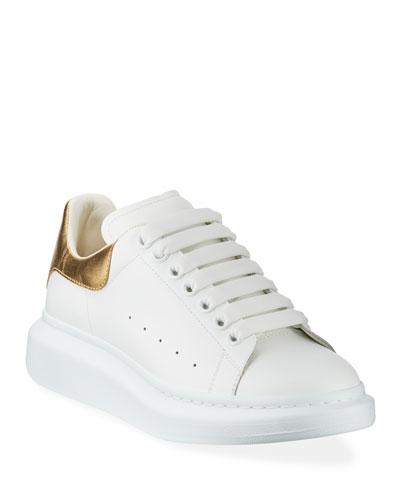 d4656c8d1ac Promotion Men s Leather Platform Sneakers with Metallic Back Quick Look. Alexander  McQueen