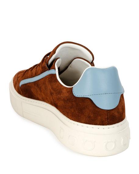 Men's Borg 2 Suede/Leather Gancio Sneakers