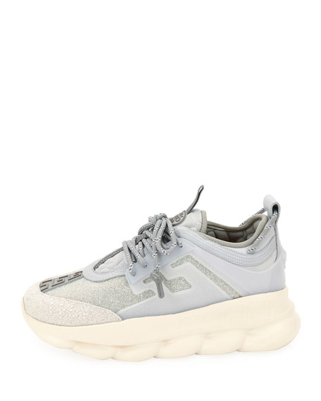 Men's Crystal Chain Reaction Caged Sneakers