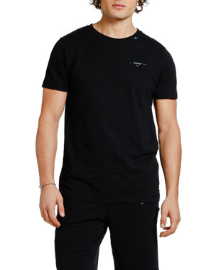 Off-White Men's Backbone Slim Graphic T-Shirt