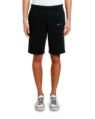 Off-White Men's Unfinished Sweat Shorts