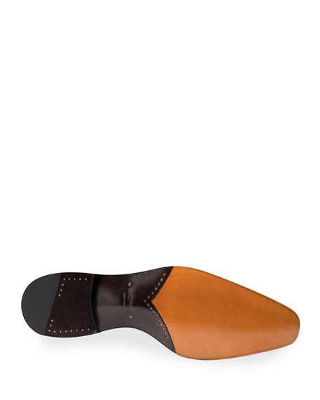 Men's Wooster Double-Monk Leather Shoes