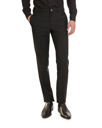 Men's Drop 8 Wool-Blend Trousers