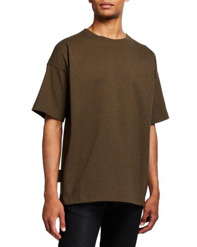 Men's Heavyweight Dropped-Shoulder T-Shirt