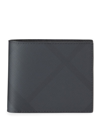 Men's Ronan London Check Wallet