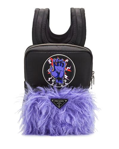 Men's Tessuto Frankenstein Mohair Backpack
